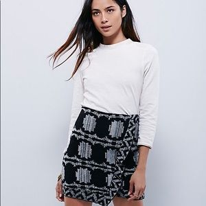 Free People Wrapped in You Blanket Skirt